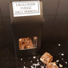 Fudge salt mandel
