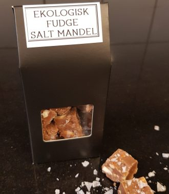 Fudge salta mandlar