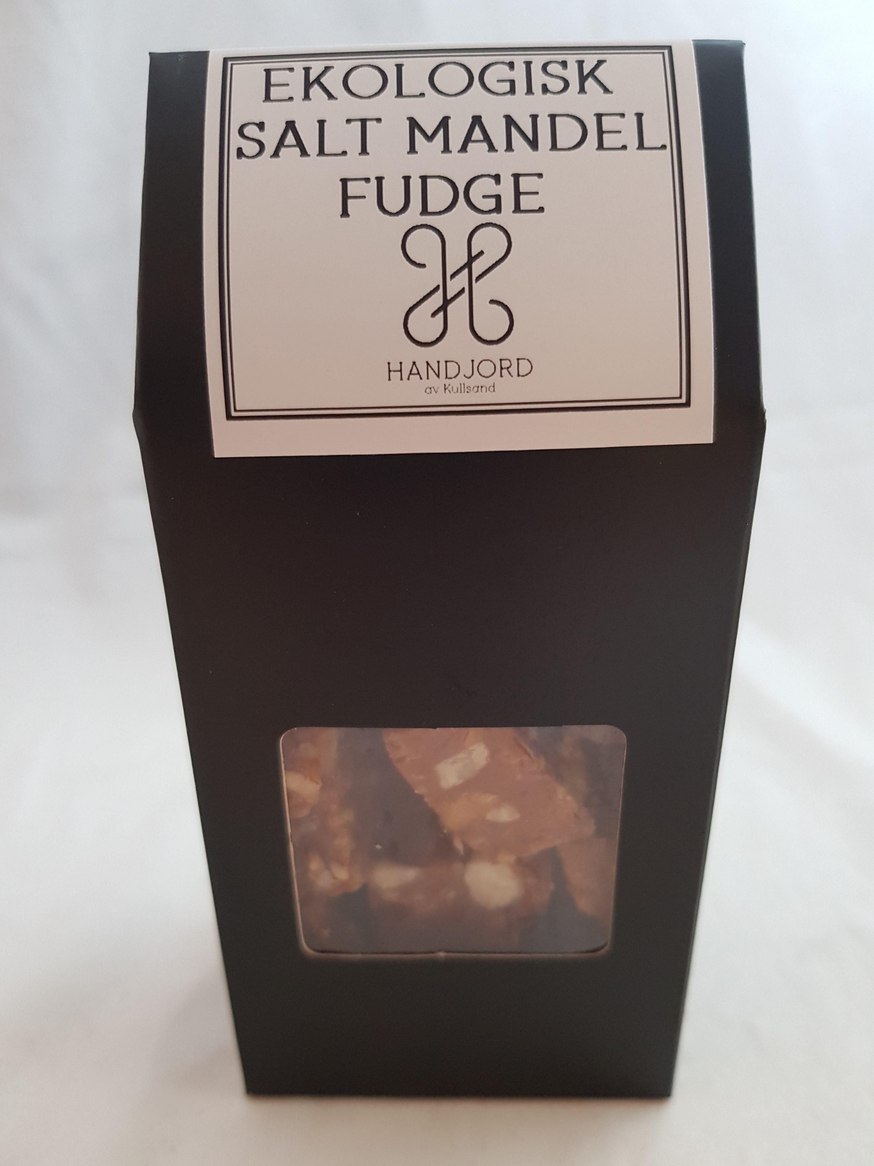 Ekologisk Fudge Salt Mandel