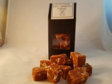 Ekologisk salt mandel fudge