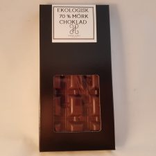 Ekologisk 70% chokladkaka