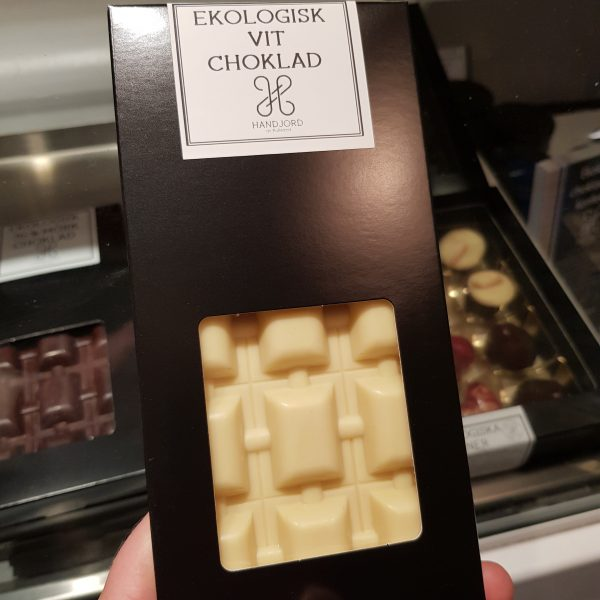 Ekologisk vit chokladkaka