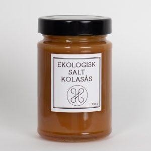 Ekologisk salt kolasås