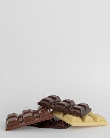 Flera chokladkakor